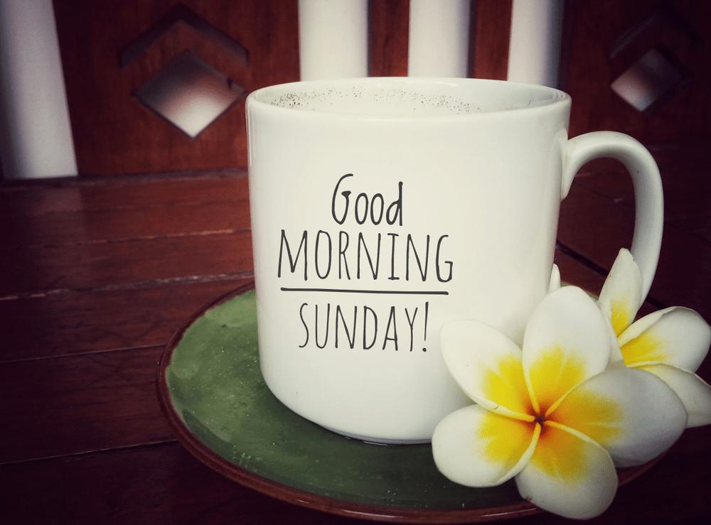 beautiful sunday good morning images