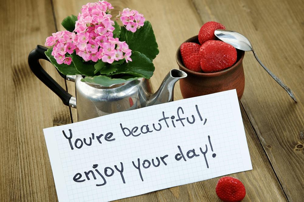 good morning fresh flowers