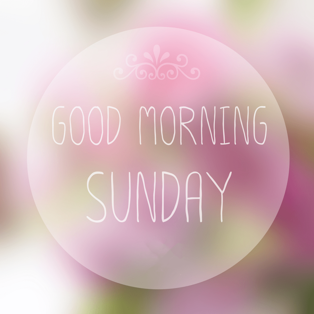 good morning happy sunday images free download