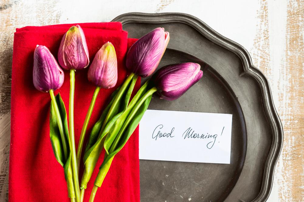 good morning happy sunday rose images