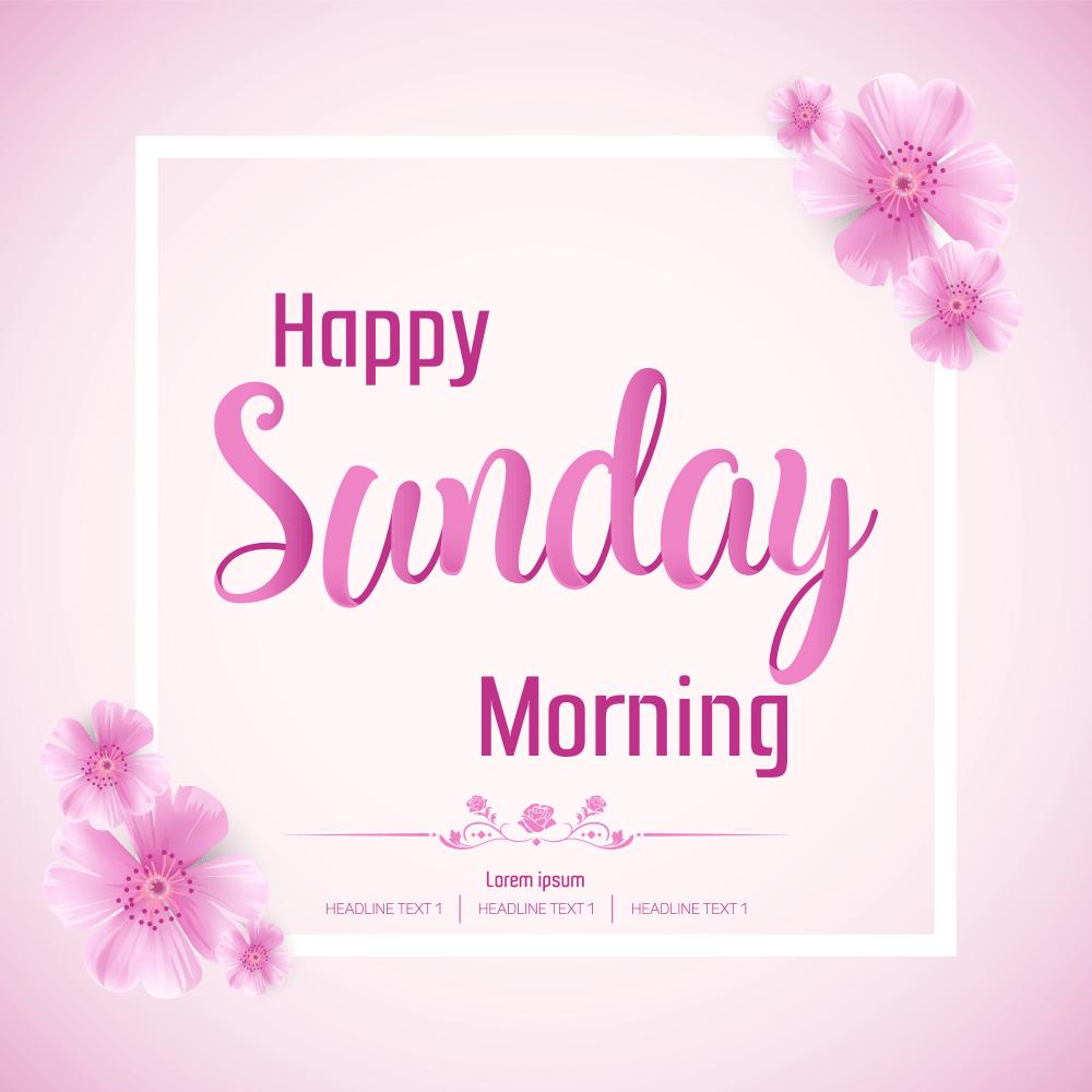 good morning sunday god images