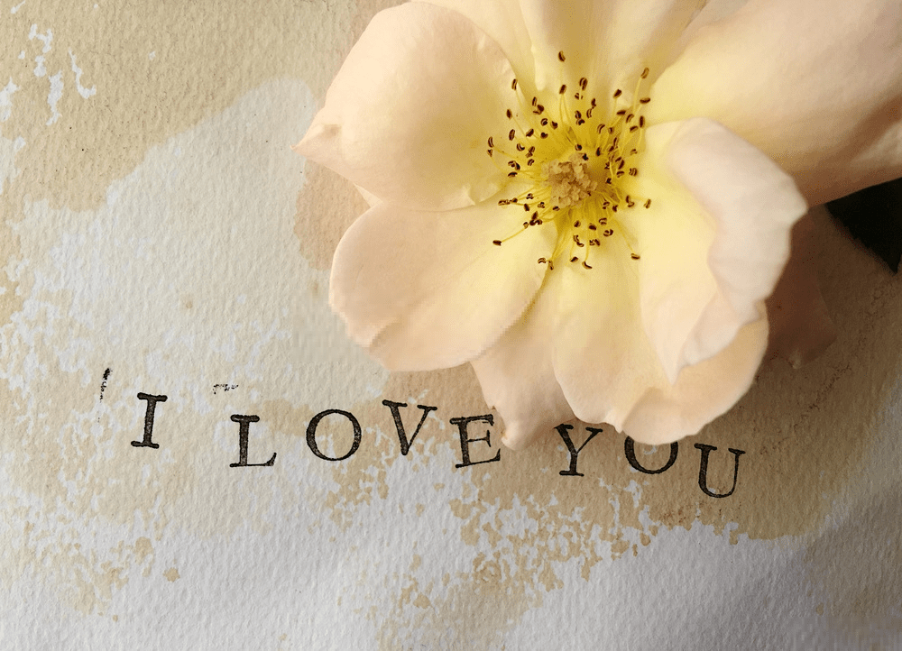i love you with roses images