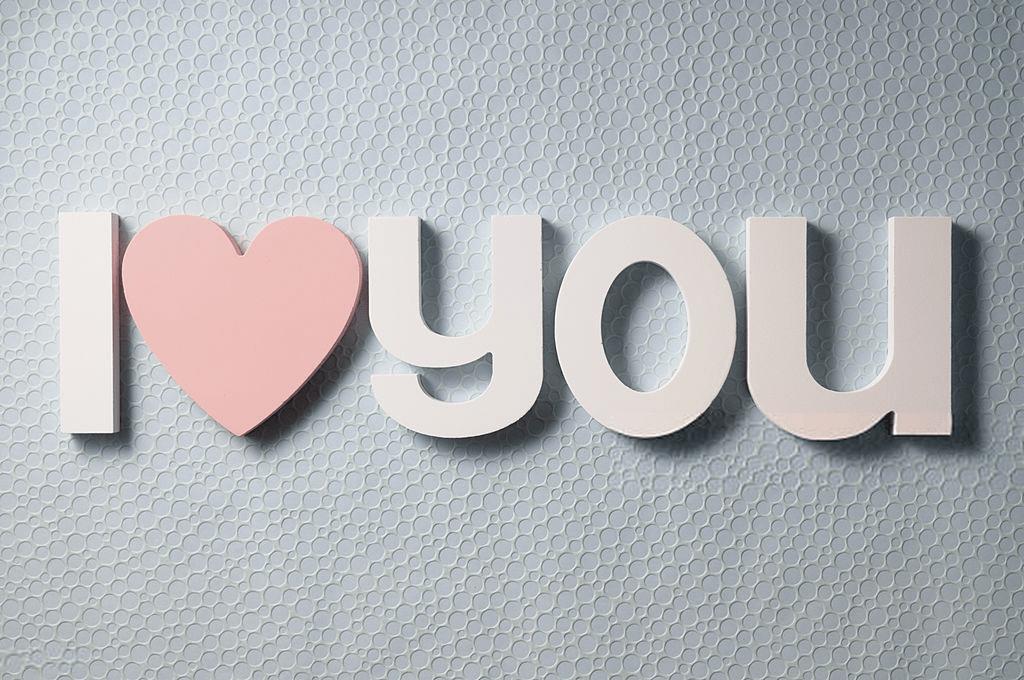 wallpaper love you