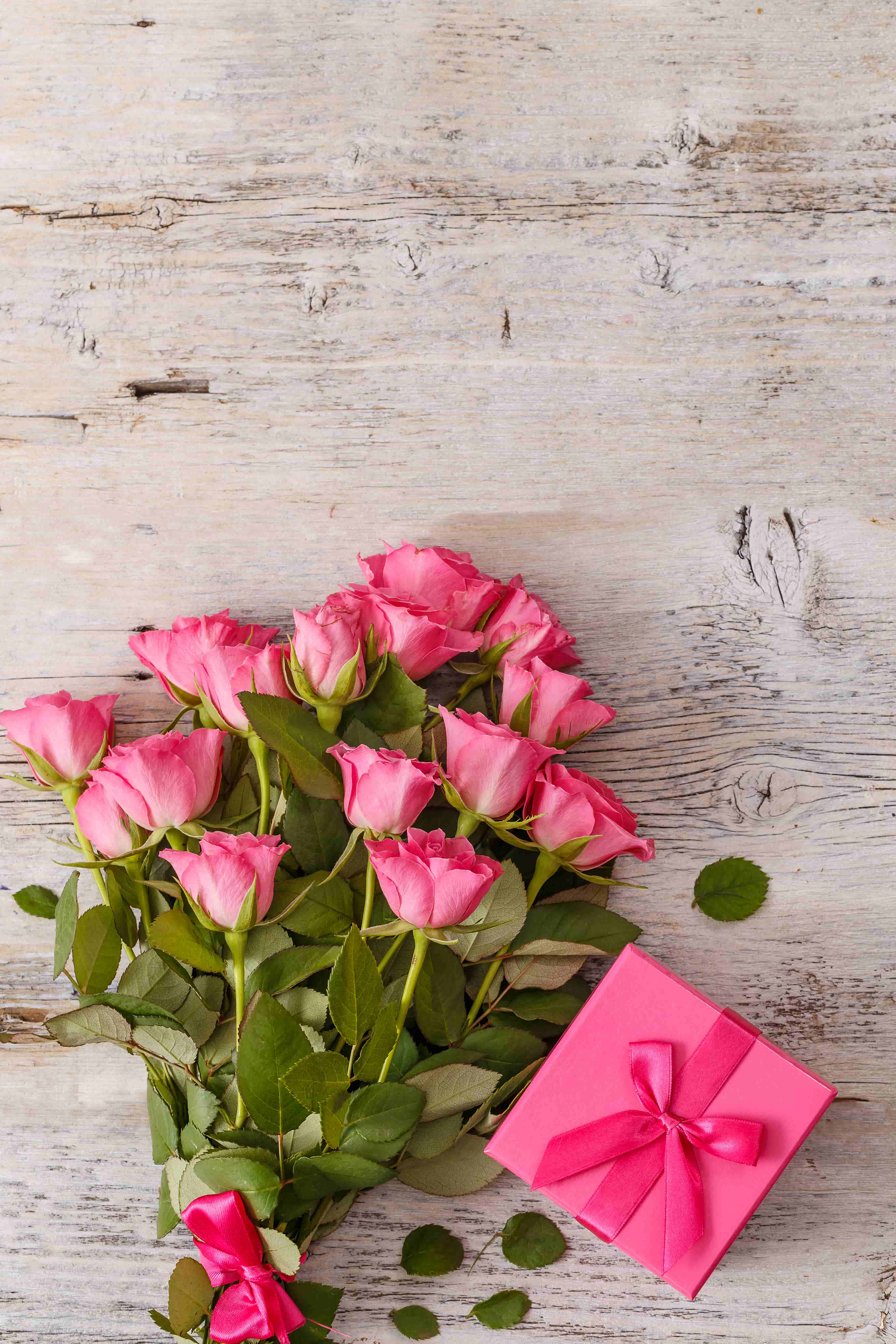 bouquet of pink rose images